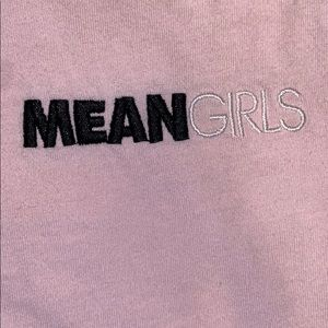 Forever 21 light pink mean girls shirt